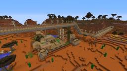 Mesa town village Minecraft Map & Project