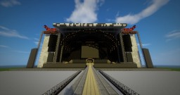 AC/DC Black Ice tour stage Minecraft Map & Project