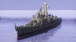 Udaroi class destroyer Minecraft Project