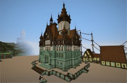 Neo-Renaissance Town Hall Minecraft Map & Project