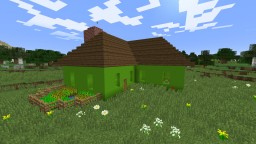 Green Concrete House Minecraft Project