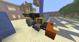 | Vehicle | Backhoe loader Minecraft Map & Project