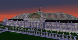 Grand Palais - Paris - World's Fair 1900 Minecraft Project