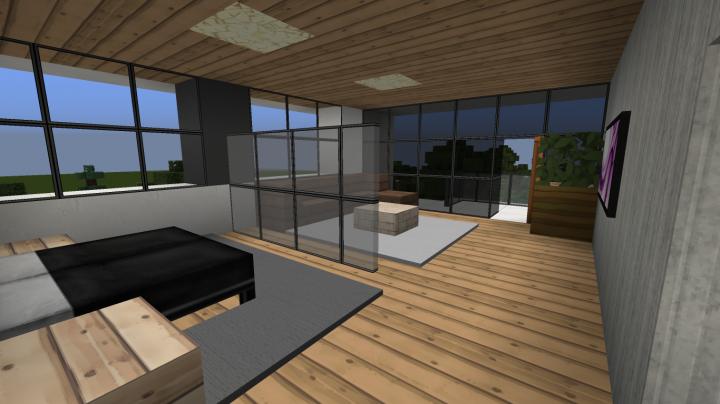 Minecraft Hotel Interiors