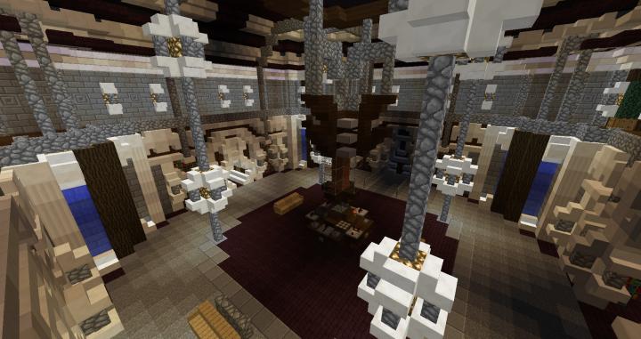 Custom Tardis Interior v5! Minecraft Project