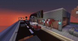 50's-80's Diner Minecraft Map & Project