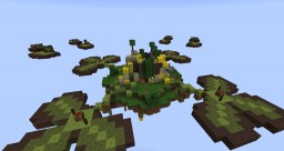 St Patrick's Day SkyWars Map Minecraft Project