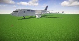 Airbus A320 Air France [Rework] Minecraft