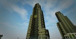 Modern Building of Wernon Corporation Minecraft Project
