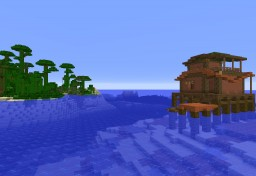 Maori Style Ocean Survival Hut Minecraft