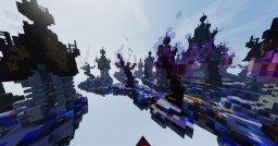 𝓗𝔢𝔯𝔯𝔰𝔠𝔥𝔞𝔣𝔱 𝔡𝔢𝔯 𝔉𝔩𝔞𝔪𝔪𝔢 | The Empire of Flame [Skywars Map] Minecraft Map & Project
