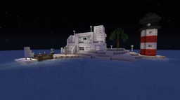 Island Mansion Minecraft Project