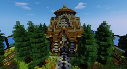 [Factions Spawn] Pineforest Chapel Minecraft Map & Project