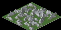 2k x 2k Terrain Map (Second Attempt at it) Minecraft Map & Project