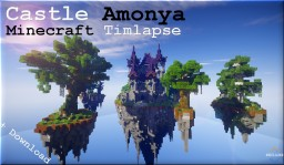 Minecraft Timelapse | fantasy Castle | Amonya Minecraft Project