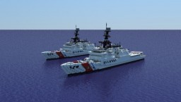 USCGC Bertholf   1:1 scale Minecraft Map & Project