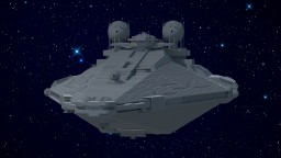 FULGOR-class Pursuit Frigate - Star Wars - Imperial Navy Ship