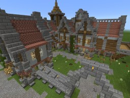 Medieval Manor Minecraft Map & Project