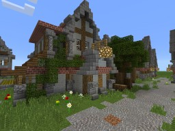 Medieval Gatekeeper's house Minecraft Map & Project