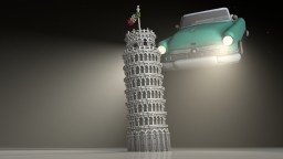 The [Leaning] Tower of Pisa (+ Timelapse) Minecraft