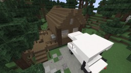 EPIC!!! Log Cabin - Inspired by the disney: Fort Wilderness! Minecraft Map & Project