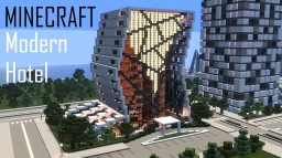 Minecraft Modern Hotel (full interior) Minecraft Project