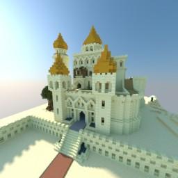Desert Palace / Palais du désert Minecraft Project