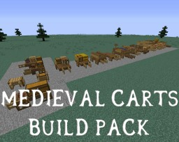 Medieval Carts Pack + DOWNLOAD Minecraft Map & Project