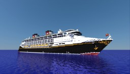 {X-MAS Project} - Disney Magic - {1:1 SCALE - EXTERIOR ONLY} Minecraft Project
