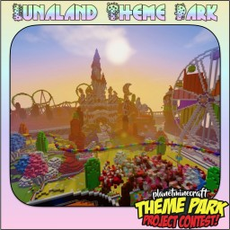 Lunaland - Theme Park: Project Contest Minecraft Map & Project
