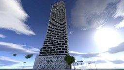 Mosaic Tower | Hotel | [PC World + Download] Minecraft Map & Project
