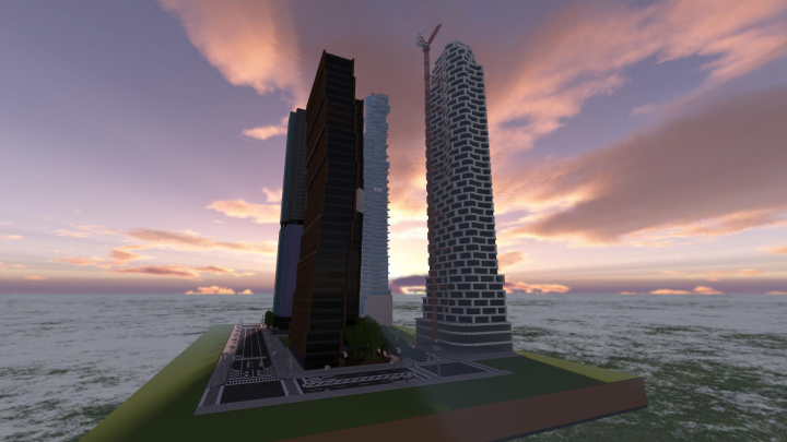 Mosaic Tower under construction
