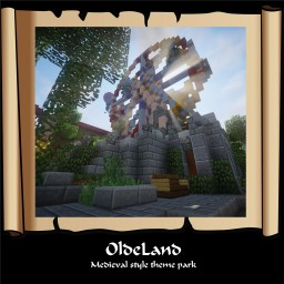 OldeLand Medieval style theme park - Contest entry (One Person) Minecraft Map & Project