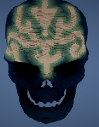 MY FIRST PROJECT-Submerged Skull Minecraft