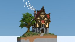 Fantasy Medieval House Minecraft Project
