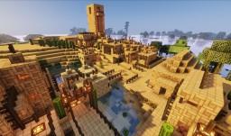 Tempra, the desert town Minecraft Project