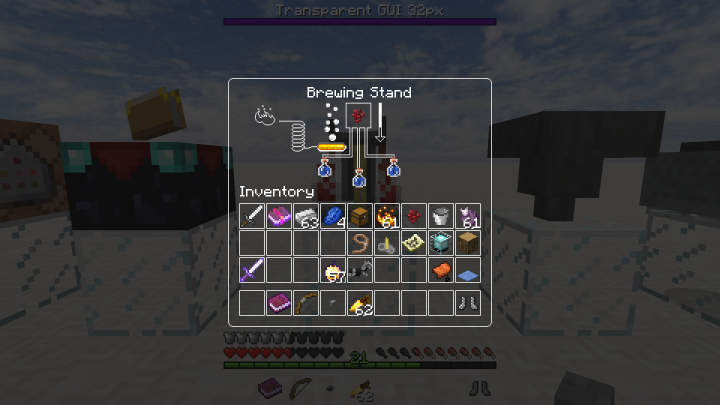 Brewing Stand GUI