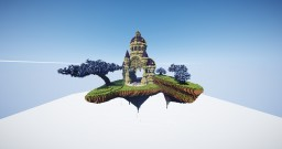 Floating Island Palace Minecraft Map & Project