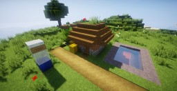 Redstone Dirt House Minecraft Map & Project