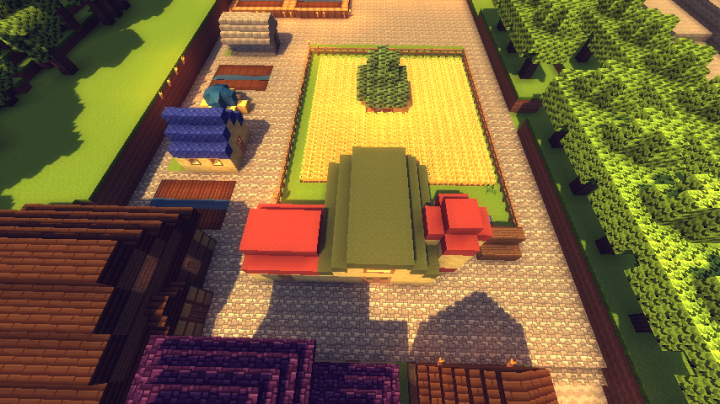 I changed the grass to wheat in a recent update