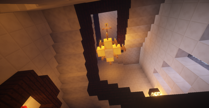 Minecraft Castle Staircase : Balmoral castle minecraft project