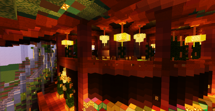 Casino Interior Minecraft Project