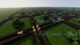 Bushes Bundle Map With Schematics and Stencils Minecraft