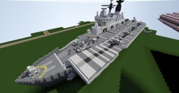 HMS Invincible R05 (1982) Minecraft