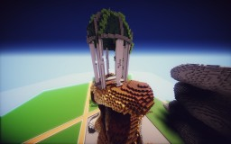 The Ruined Temple of Mount Olympus Minecraft Map & Project