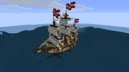 realistic cargo ship Minecraft Map & Project