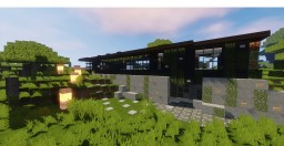 Overwood |Modern house Minecraft Map & Project