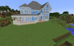 Victorian Queen ann style home Minecraft Project