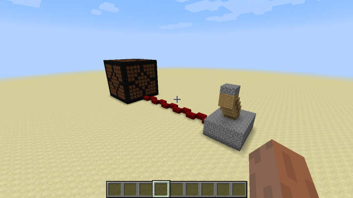 how to get a redstone lamp to turn on