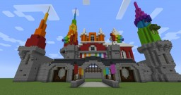 Color Castle (World of Color Update) Minecraft Project
